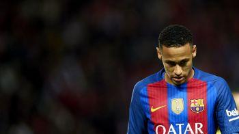 """Suspendare drastica pentru Neymar, in Spania! Brazilianul, """"interzis"""" pentru El Clasico"""