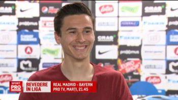 """Plecat la Brugge, Rotariu ii da intalnire lui Dinamo in Champions League: """"Ar fi ceva fantastic"""""""