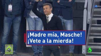 """""""Mamaaaa meaaa, ce rusine!"""" Luis Enrique, surprins in timp ce si-a injurat un jucator, in timpul meciului cu Juventus"""