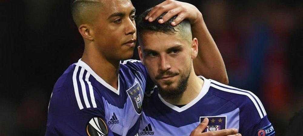 """Stanciu, pus la ZID dupa eliminarea cu Man United: """"Anderlecht a pierdut meciul dupa intrarea lui!"""" Reactia antrenorului"""