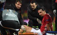 FINAL de cariera? Marele Zlatan, doborat in meciul cu Anderlecht! Anunt de ultima ora: cat de grava e accidentarea