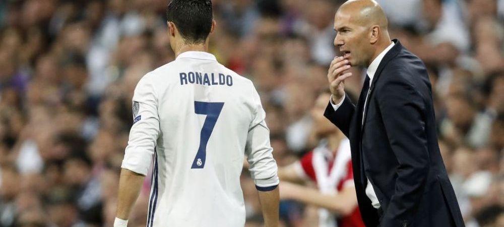 Veste mare pentru Zidane, cu o zi inainte de El Clasico! Ce a aflat dupa antrenamentul din aceasta dimineata