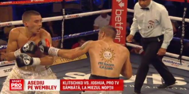 Bombardierul Simion se antreneaza ca Muhammad Ali pentru meciul de pe Wembley. Romanul boxeaza in gala in care se lupta si Klitschko, sambata noapte, 00:15, ProTV