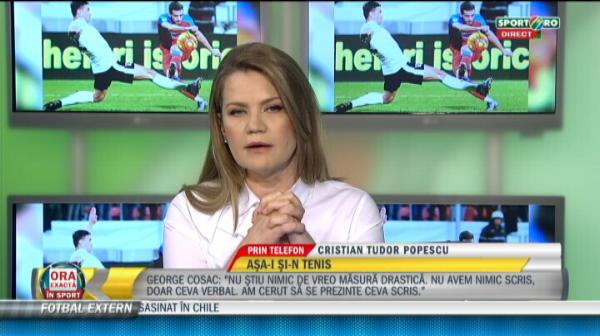 VIDEO: CTP: 'Nastase a fost Nasty. Porcos. Obraznic!' Ce spune despre scandalul ANULUI in tenis