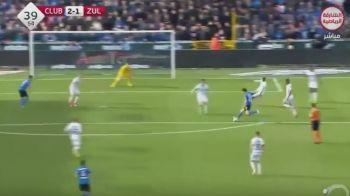 GOOOOOL ROTARIU! Fostul dinamovist a reusit un gol superb pentru FC Brugge! Cum a marcat primul gol in Belgia