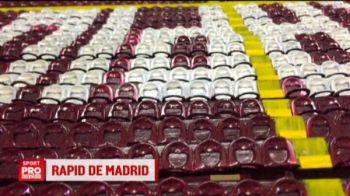 Povestea SUPERBA a unui fan rapidist. A construit GIULESTIUL la Madrid. VIDEO