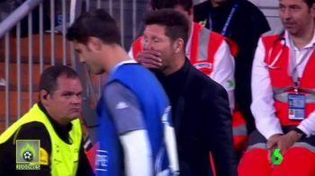 Imaginea care a pus pe JAR Spania! Ce i-a soptit Simeone lui Morata la ureche. VIDEO