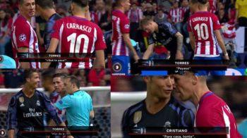 """""""Ce-ai patit, clovnule?!"""" Torres a sarit la gatul lui Cristiano Ronaldo! Cum i-a raspuns jucatorul Realului: VIDEO"""