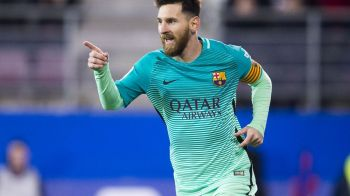Messi, la un meci de cea de-a patra Gheata de Aur: principalul adversar trebuie sa marcheze 5 goluri in ultima etapa ca sa-l depaseasca