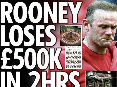Wayne Rooney a pierdut 500.000 de lire in doar 2 ore la casino! Dezvaluirea halucinanta a englezilor despre seara de COSMAR