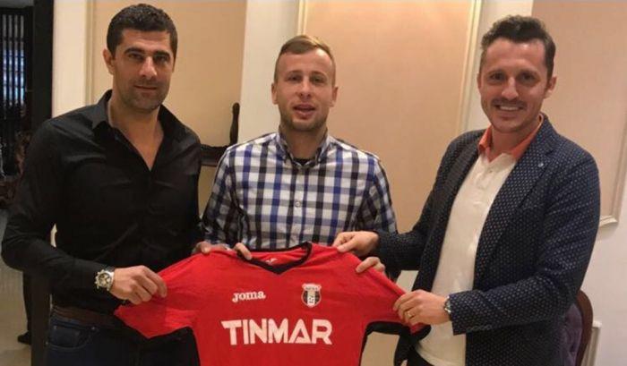 Astra e prima echipa care face un transfer OFICIAL! Fosta campioana l-a prezentat pe Mrzljak