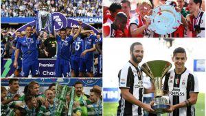 Lista completa a CAMPIOANELOR din Europa. Care sunt echipele care au cucerit titlurile pana acum si unde se mai disputa trofeele