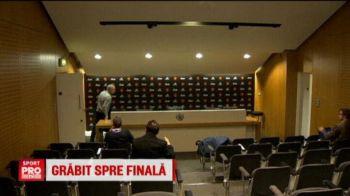 Cea mai scurta conferinta de presa din istorie. Moment unic cu Jose Mourinho, dupa ultimul meci al lui United. VIDEO