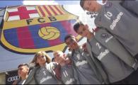 "Pustii romani care s-au antrenat in casa Barcelonei: ""Sunt jucatori tehnici, baietii astia stiu fotbal!"""