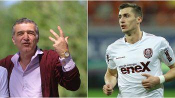 "EXCLUSIV | Becali vrea sa vanda un jucator care nu a jucat NICIUN MINUT la Steaua: ""Daca-l vor, sa il cumpere de la noi"""