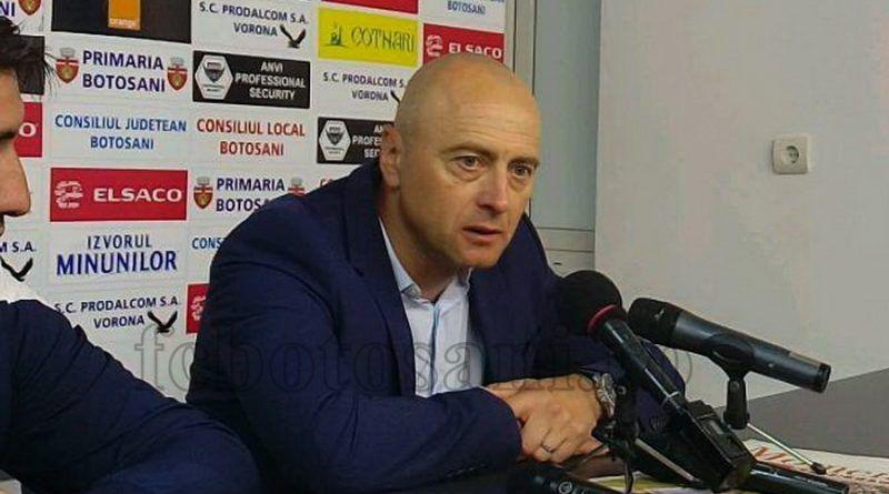 Leo Grozavu si-a anuntat PLECAREA de la Botosani! Cu cine negociaza moldovenii