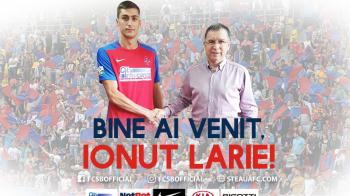OFICIAL | Un nou transfer anuntat de Steaua: Larie, prezentat de ros-albastri