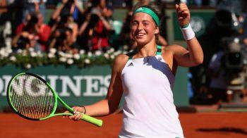 Portretul luptatoarei la tinerete. Cine este Jelena Ostapenko, adversara Simonei din finala de la Paris: mai ofensiva ca Murray si Nadal