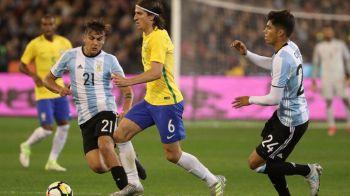 Argentina, cu Messi-Di Maria-Dybala-Higuain, a batut Brazilia lui Coutinho si Gabi Jesus, intr-un amical disputat la Melbourne. VIDEO