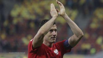 """Lewandowski, nemultumit dupa ce a marcat 3 goluri cu Romania: """"Astfel de lucruri nu ar trebui sa se intample! Romania a jucat foarte defensiv!"""""""