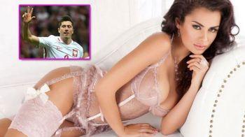 """Cea mai sexy fana a lui Lewandowski s-a bucurat la golurile in poarta Romaniei. Cum arata """"bomba"""" Natalia. GALERIE FOTO SEXY"""