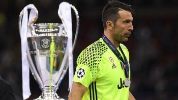 "Buffon si-a anuntat retragerea: ""99.9% acesta va fi ultimul sezon!"" Singura varianta sa continue"