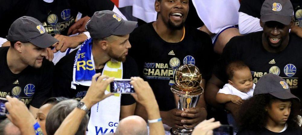Villain Squad it is. Golden State Warriors ii fura titlul pentru a doua oara in trei ani lui LeBron