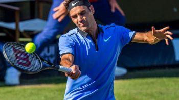 Infrangere SOC pentru Federer! A pierdut in fata numarul 302 mondial mondial, un fost mare jucator ajuns la 39 de ani