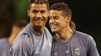 """""""Urata freza!"""" :)) Ronaldo l-a luat peste picior pe James dupa ce si-a schimbat look-ul! Cum arata acum"""