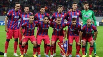 UEFA: Steaua, in top 30 cluburi din istoria Champions League. Pe ce loc se afla formatia ros-albastra