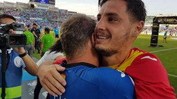 "Anton, in culmea fericirii dupa ce a promovat cu Getafe in La Liga: ""Am fost in moarte clinica, fara puls!"""