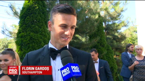 """""""Sunt obisnuit cu emotiile!"""" Imagini superbe de la nunta lui Gardos cu un super model"""