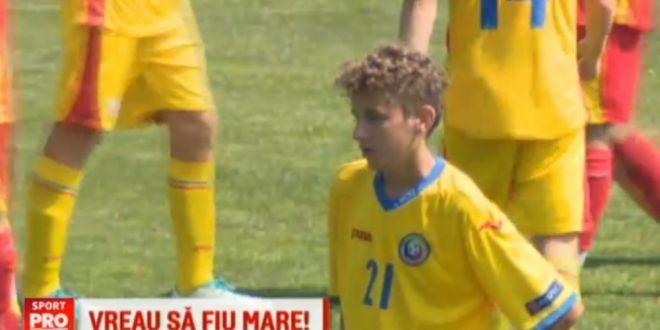 Fiul lui Gica Popescu a debutat la nationala si si-a dezvaluit visul:  Mai intai la Viitorul, apoi Barcelona!