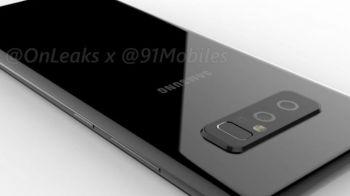 Primele imagini cu noul flagship Samsung! Cum va arata Galaxy Note 8