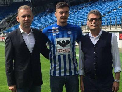 Transfer record pentru Liga a 2-a din Romania. Golgheterul de 19 ani de la UTA a semnat azi cu Esbjerg