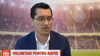 """Burleanu, despre o fuziune intre Rapid si FC Voluntari: """"E nevoie de Rapid in Liga I"""""""