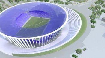 O noua arena de LUX in Romania! Primarul anunta investitii de 50 mil euro pentru un stadion de 31000 locuri! FOTO