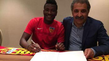 """Jucator de renume mondial!"" Sumudica a mai dat o lovitura! Asamoah Gyan a semnat cu Kayserispor"