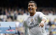 Cristiano Ronaldo a incercat sa ZBOARE, dar a cazut in cap! Cele mai tari imagini din vacanta portughezului. VIDEO