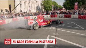 Formula 1 a iesit in strada: Vettel, Bottas si Ricciardo au facut spectacol in centrul Londrei. VIDEO