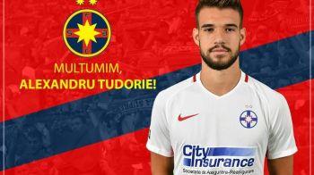 Steaua a mai cedat un jucator: Tudorie a plecat definitiv