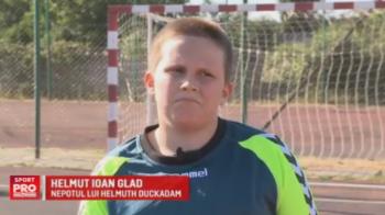 """Helmuth Duckadam al II-lea. Nepotul fostului portar al Stelei viseaza sa apere si el 4 penalty-uri: """"Doar la Dinamo nu pot sa ajung, ca se supara bunicul"""""""