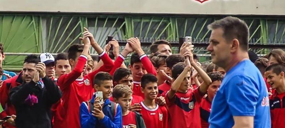 """Hagi si Galca, in spatele noii echipe CSA Steaua? """"Unii jucatori sunt adusi la recomandarea lor"""""""