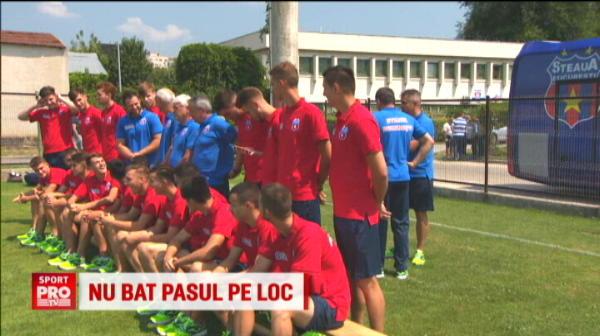 """FOTO: Lotul complet al CSA Steaua si ce BUGET are pentru sezonul viitor: """"Deocamdata nu avem sponsori!"""""""