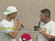 """Ronaldo a ajuns in China si a iscat nebunia: """"E cald afara pentru ca sunt eu aici"""" :)) VIDEO"""