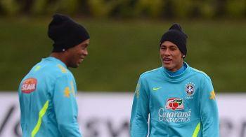 Ce i-a spus Ronaldinho lui Neymar, cand a aflat de negocierile cu PSG