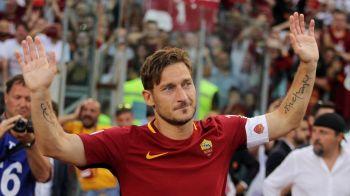 Gestul URIAS al celor de la AS Roma pentru Totti! Tricoul lui a ajuns in Spatiu! VIDEO