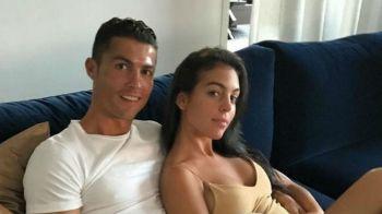 Isi face echipa de fotbal...MIXT! Portughezii au aflat ce sex va avea copilul asteptat de Ronaldo si Georgina Rodriguez