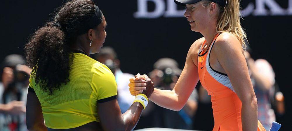 """""""De ce ma uraste Serena"""". Sharapova a dezvaluit in premiera motivul rivalitatii aprinse dintre ea si Serena Williams: """"A zis ca nu va mai pierde impotriva unei mici scorpii"""""""
