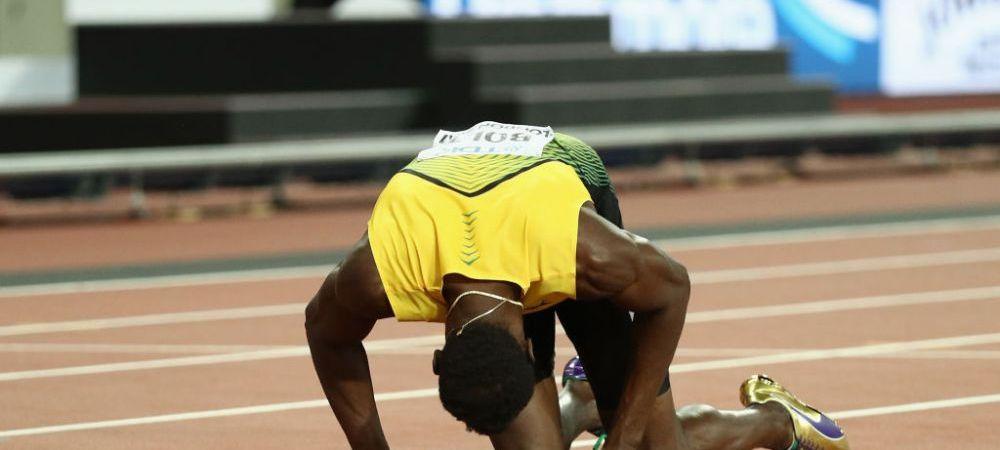 Ultima licarire a Fulgerului! Bolt, retragere in lacrimi, dupa o accidentare in finala mondiala a stafetei 4x100. Marea Britanie a luat aurul